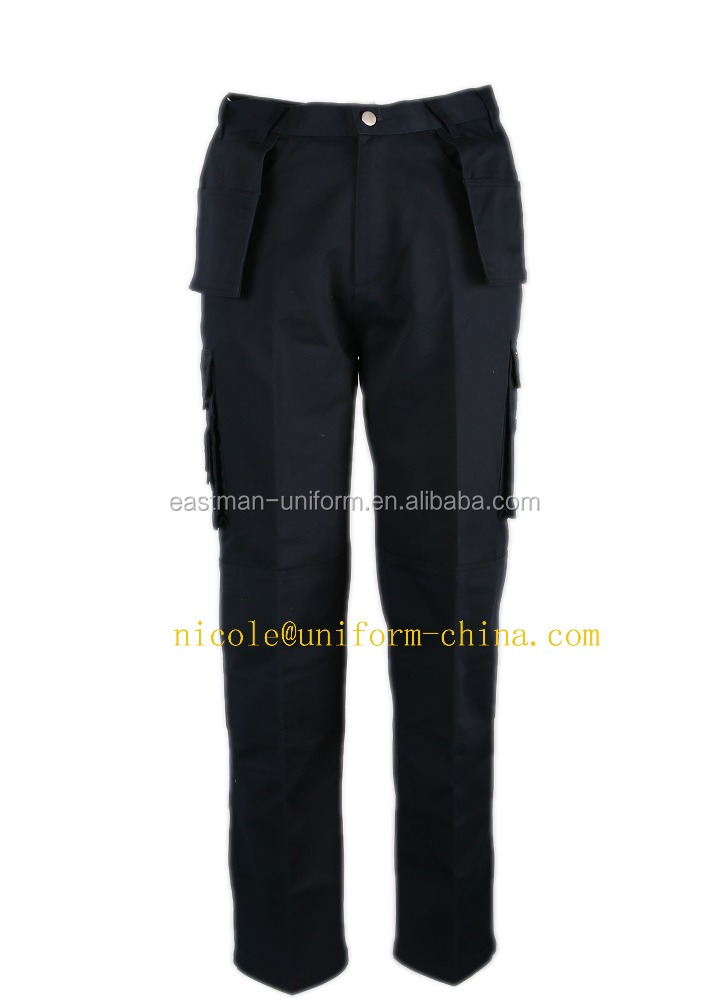 wholesale cheap mens navy blue 6 pockets cargo work pants in china