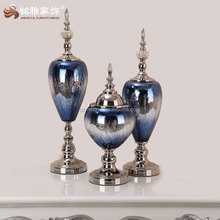 2016 hot sell new design glass arts and crafts with mosaic effect