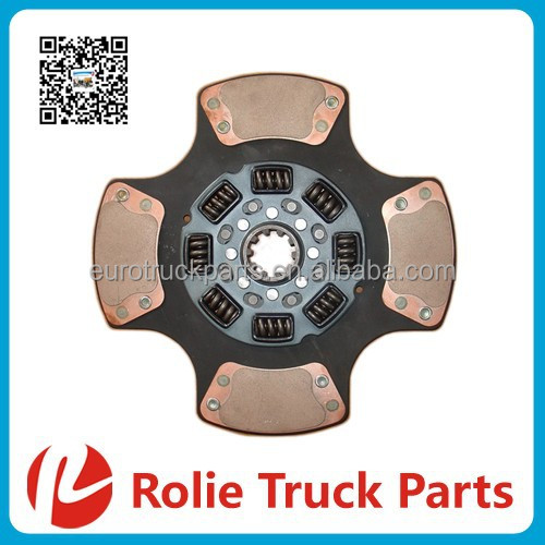Heavy duty truck spare parts OEM CD128229 Mack Truck Models USA Tractors 14 inches Double Clutch DIsc