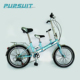 20inch Steel Aluminium tandem bike folding bicycle