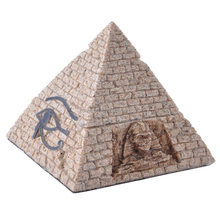 Egypt Style big size sandstone pyramid aquariums ornament home deor 12011-2