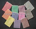 Assorted colors colorful striped paper bags Treat Bags Wedding Favors Bridal Shower Baby Shower Birthday Halloween Candy