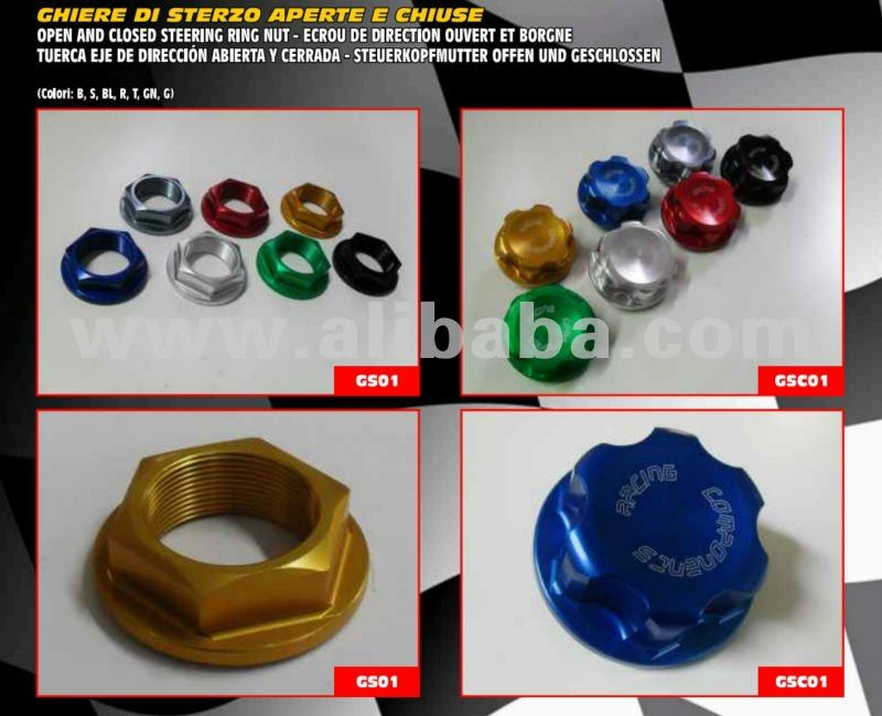 Motorcycle Steering ring nuts