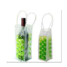 Environmental plastic wine ice bag