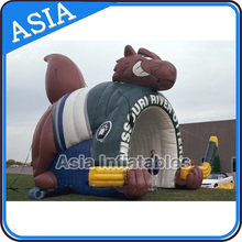 Dependable performance advertising animal shape iInflatable tunnel tents for advertising events