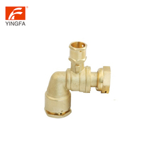 "Wholesale china factory 1/2"""" ss 316l water meter ball valve with long handle"
