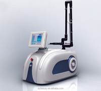 Portable 10600nm CO2 fractional laser scar removal equipment/fractional co2 laser germany