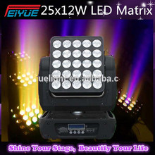 25PCS Led Moving Head Beam Matrix Light/5x5 Led Matrix/25PCS Moving Head Wash Blinder Light