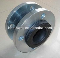 Single-ball Rubber Expansion Joint With floating flange
