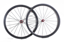 full carbon 38mm Tubular wheels 700C carbon bicycle wheelset