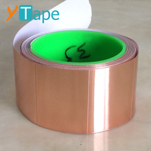 Transparent EMI Copper Foil Coated with PET Film Conductive Mylar Insulation Tape for Cable Shielding