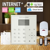 Home/factory/company intruder WIFI alarm Usage ,The Best Price GPRS GSM Alarm System