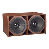 "dual 18"" subwoofer speaker for disco / DE Acoustics HQ-218S dual 18"" subwoofer"