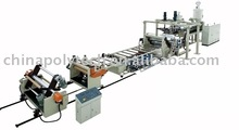 PE/PP/PS/PMMA/PC/ABS/PET single layer/multi-layer sheet extrusion line