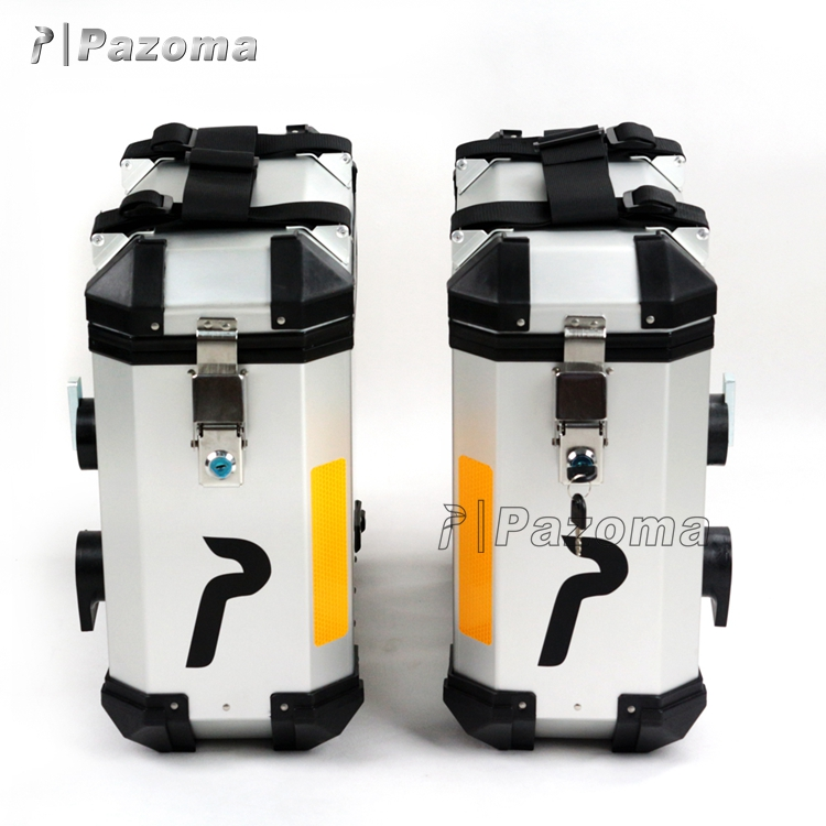 pazoma motorcycle metal tail box/rear case/tail case with super quality and best price
