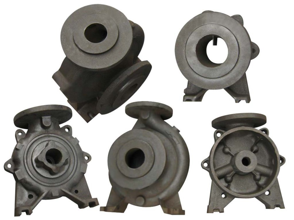 Aluminum Die Casting Motor Housing,Gray Iron Die Casting Parts Pump Housing