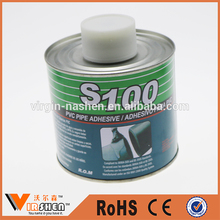 s100 pvc cement glue pipe fittings adhesive solvent cement for hard plastic contact