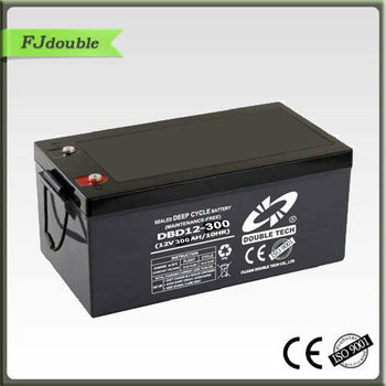 Rechargeable 12V 300AH Deep Cycle Battery