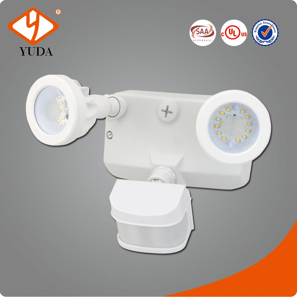 2-head LED Security Light Motion-sensing Flood Light/floodlight Commercial/home Super Bright