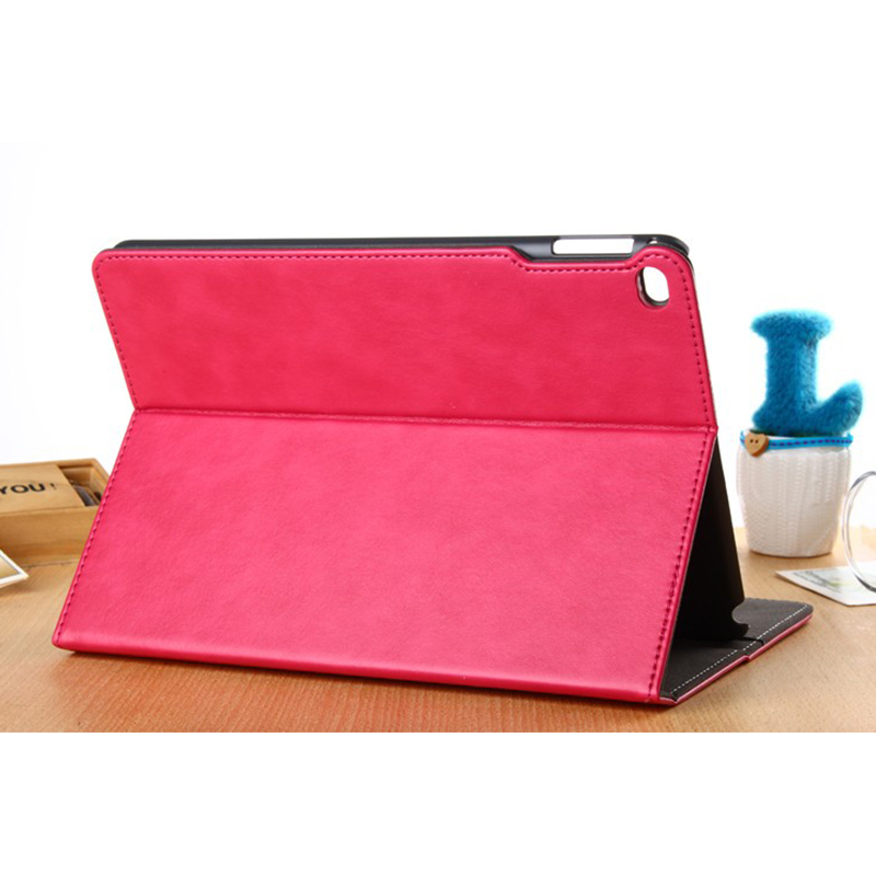 Premium PU leather tablet cover for ipad air 2,magnet smart cover case