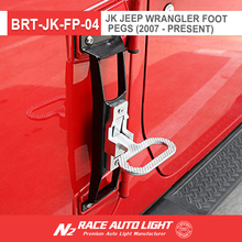 China factory N2 RACE AUTO wholesale Door Accessories for Jeep Wrangler Door Pedal hingle folding step for Wrangler Unlimited JK