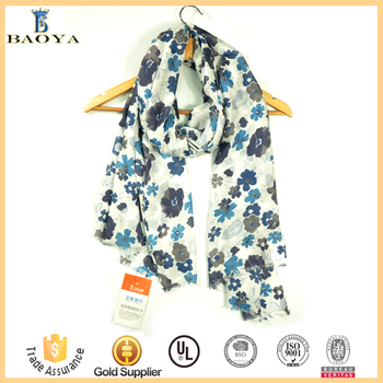 Factory Price Premium Fashion Viscose Knit Scarf