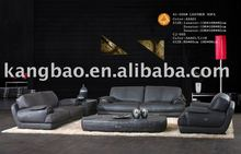 Simple Design Home Furniture Leather Sectional Sofas