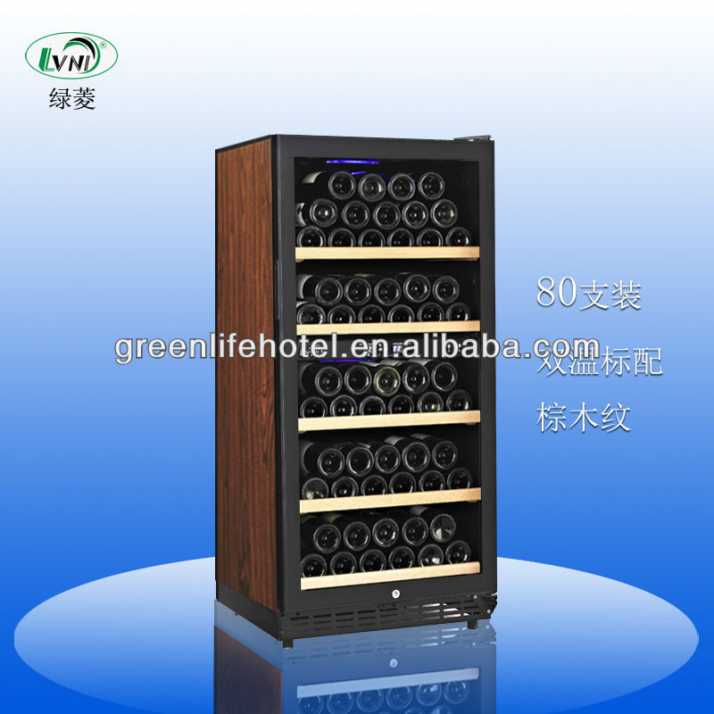 2014 HOT SELLING Compressor Wine Cooler/Upright Wine Display Fridge/home wine chiller