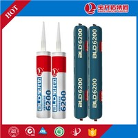 BLD6200 High Displacement weather resistance tube sealant non-toxic glass silicone sealant