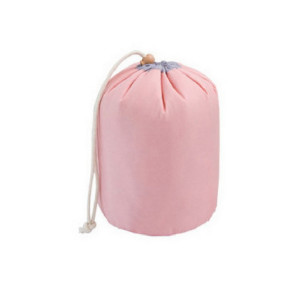 Oem Korea Style Women Nylon Drawstring Makeup Bag
