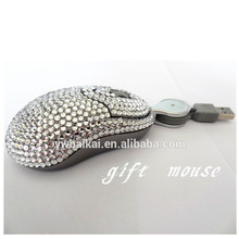 hottest sports car diamond wired optical mouse