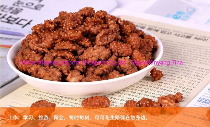 flavor snacks flour coated peanuts/coated peanuts in liaoning/wasabi flavor roasted coated peanuts