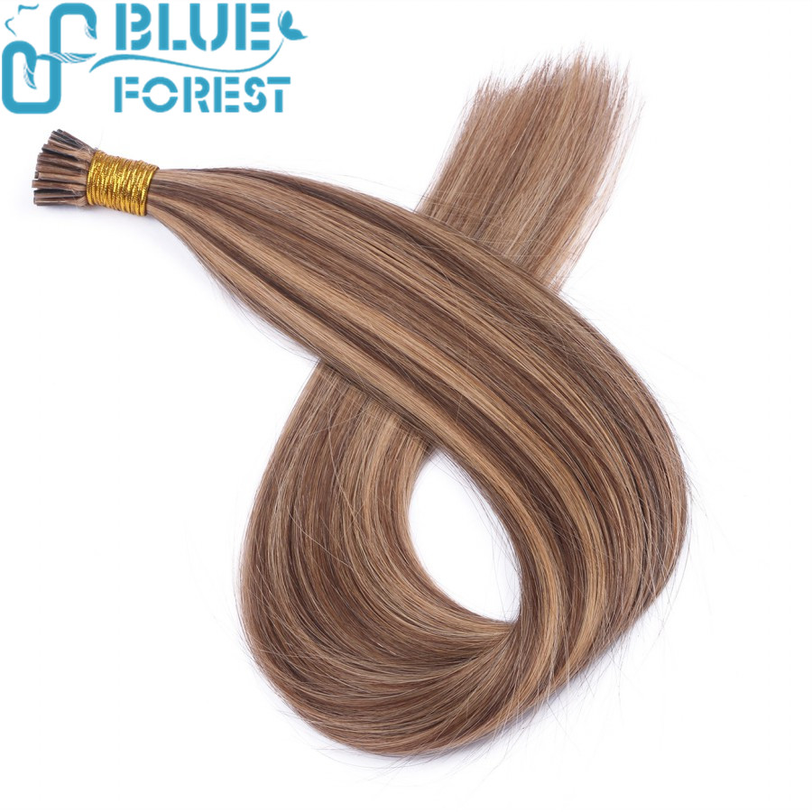 Factory Wholesale I-Tip Hair Extension, 8A Malaysian Remy Human Hair I Tip Straight hair extension