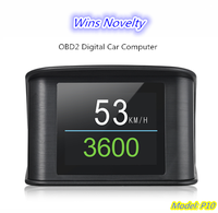 2018 Universal Multi Function OBD2 Digital Car Computer Diagnostic Fault Code Tool Speed RPM Meter Display Car Trip Computer