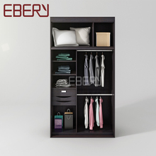 Professional design MDF almirah wardrobe with inside drawer
