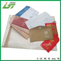 business envelopes color custom size and design paper envelope