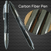 High Quality Ball Pen Brass and Carbon fiber Material Standard Size with Custom logo and color for Branded Ballpoint Pen