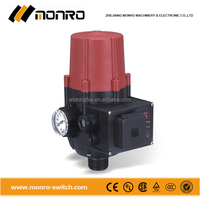 2015 Zhejiang Monro red black color with socket box with pressure gage water pump electronic pressure switch (EPC-2.1)