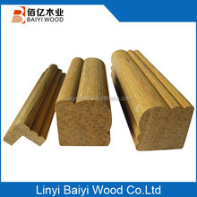 Decorative Low Price Ceiling Film Crown Wooden Moulding