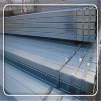 Welding HDG SS330 RHS 60*80mm steel pipe for construction material