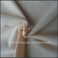100% polyester micro bushed velvet fabric sold dyed used for garment/shoes/lining fabric