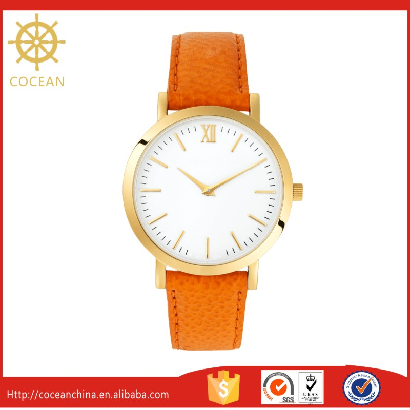Alibaba Hot Product 3 ATM Water Resistant Ronda Movt Watch Own Logo