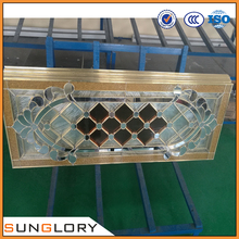 Decorative door glass oval , oval glass door inserts , models for wood doors exterior floorings