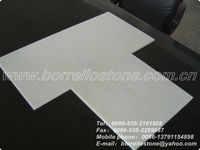 Supply White Polished Marble Flooring Tile