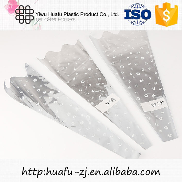 Modern style custom design transparent flower sleeve