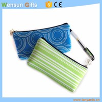 Neoprene small bags for pens or cosmetics daily use promotional gifts