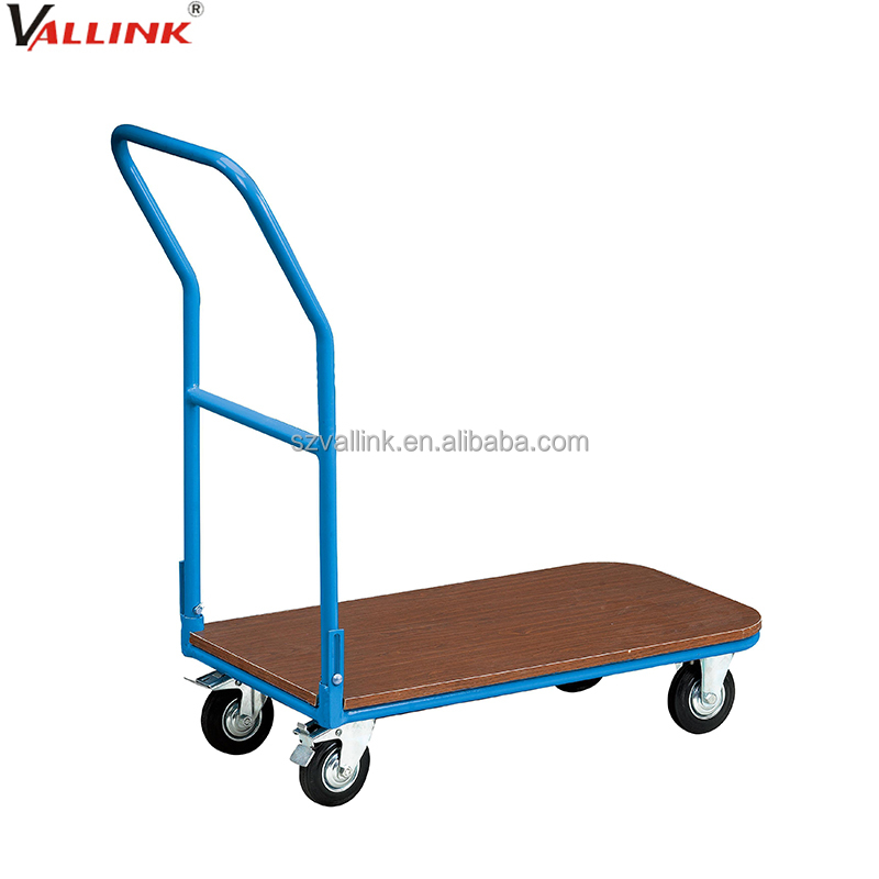 steel flatbed collapsible hand pull cart