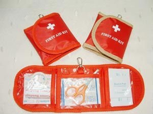pocket first aid kit with lock