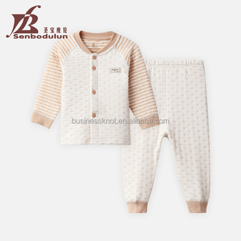 Senbodulun 100% Prue Cotton Long Sleeve Baby Boys & Girls Clothing Set