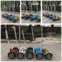 10 inch 700w brushless dual motor 2 wheel two wheel self balancing electric smart scooter/electric motor skateboard/e-scooter